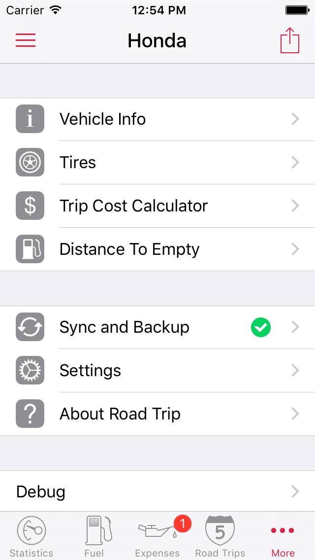 screenshots road trip for iphone and ipad